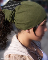 army green do-rag