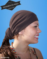 brown do-rag