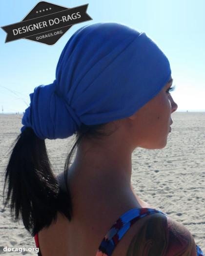 egyptian blue do-rag