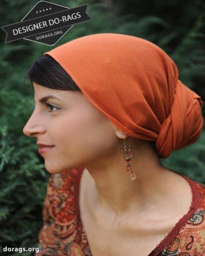 orange do-rag