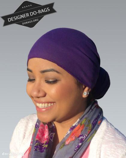 purple do-rag