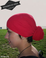 red do-rag
