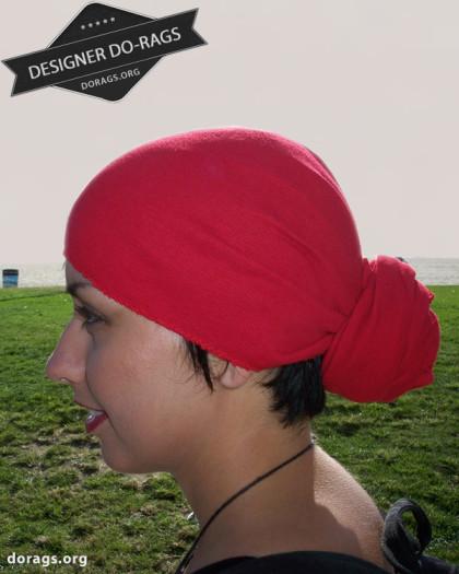 red do-rag